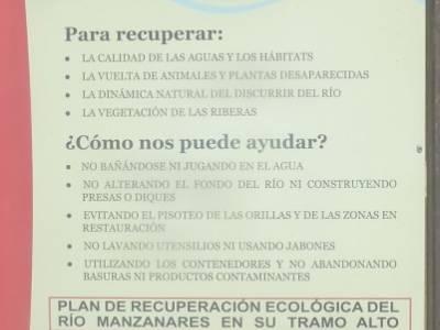 La Pedriza-Río Manzanares Madrid-Charca Verde; federación española de deportes de montaña y esca